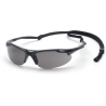 Pyramex Avante Safety Eye Wear with Black Frame and Gray Lens with Cord SB4520 DP