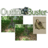 Quaker Boy Outline Buster Camouflage Hunting Blind / Ghillie Suit
