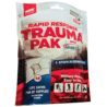 QuikClot Rapid Response Trauma Pak with QuikClot