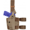 Safariland 6004 SLS Tactical Holster - STX FDE Brown, Right Hand 6004-53-551