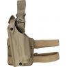 Safariland SLS Tactical Holster - STX FDE Brown, Left 6004-8314-552