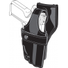 Safariland Duty Holster, SSIII Low-Ride, Level III Retention - Plain Black, Left 0705-65-162