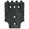 Safariland Duty Receiver Plate, Black 6004-22-2
