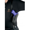 Safariland 1051 ALS Shoulder Holster System - Plain Black, Right Hand 1051-219-61