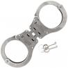 Schrade Chain Link Handcuffs,Hinged,Stainless Steel