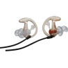 SureFire EP3 Sonic Defender Earpieces - Hearing Protection, Clear