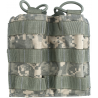 Tactical Assault Gear MOLLE Double Shingle Mag (2) Pouch