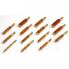 Tipton 270 Caliber Rifle Bronze Best Bore Brushes