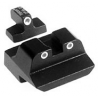 Trijicon Night Sights for S&W Compact .45, Long Rear - 3-Dot Tritium Sights