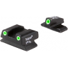 Trijicon Bright & Tough 3 Dot Green Night Sights for Beretta PX4 C/D