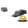 Trijicon HD Night Sights For Glock - Orange/Yellow Front Outline
