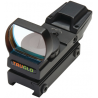 TruGlo Open Red-Dot Sight Red/Green Illuminated Multi-Reticle Matte Black TG8360B