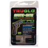 TruGlo Tritium Fiber Optic Brite-Site Handgun Sight For Smith and Wesson M&P Yellow Rear Sight TG131MPTY