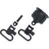 Uncle Mike's Sling Swivels - QD BRN-BPS/A5 Cap Set (1