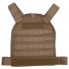 US Palm MOLLE Defender Soft Armor Plate Carrier With Two Level IIIA Soft Armor Panels X-Large 11 X 13.5 Inch Panel Maximum Waist 60 Inches Coyote Tan USP00400631