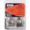 Warne 1inMedium Matte Quick Detach Ruger 77 Rings 1R7LM