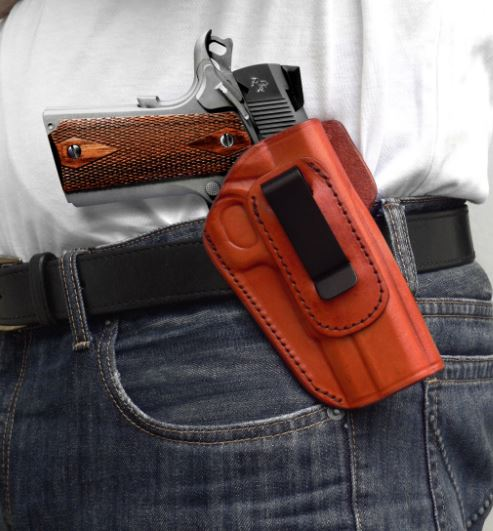 Tagua Gunleather 4 In 1 Inside The Pant Holster Sig P938 Right Hand Black  IPH4-465